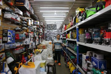 報告稱去年中國零售服務業 市場規模近6萬億