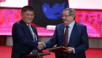 中企與阿爾及利亞簽署磷酸鹽開發合作檔