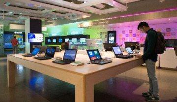业务转型见成效 微软市值飙涨一度超越苹果