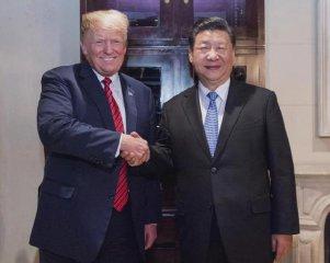 習近平同美國總統特朗普舉行會晤