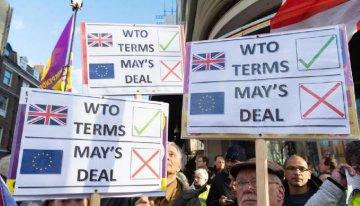 """英國議會11日將就""""脫歐""""協議投票 角力不止前景存疑"""
