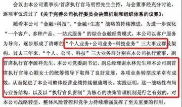 中國平安高管大變陣!六大解讀看最新組織架構