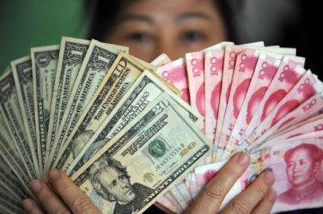 在岸人民币对美元汇率开盘失守6.90关口