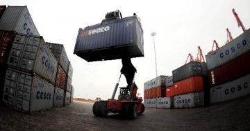 """受益于""""一带一路""""建设 中国制造集装箱走向全球"""