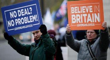 """英國議會將于下周就""""脫歐""""協議舉行投票"""