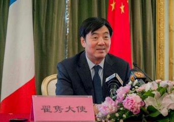 """中国驻法大使翟隽:中法将有多个""""一带一路""""合作项目逐步落地"""