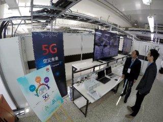 华为发布业界首款5G基站核心芯片