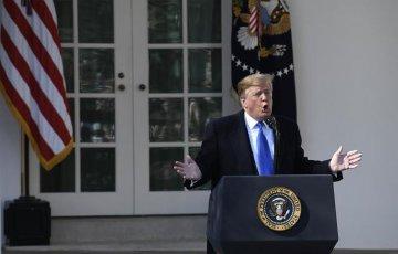 """特朗普签署拨款案 美政府本财年不再""""停摆"""""""