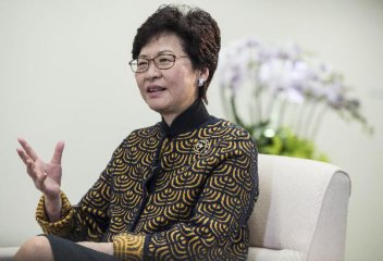 林郑月娥:期盼香港抓住大湾区建设重大机遇再创辉煌