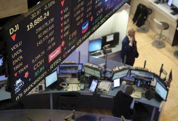 鮑威爾聽證首日 美股轉漲後小幅收跌