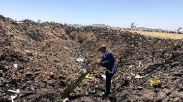 """""""今天對我們來說是一個異常悲傷的日子""""--埃塞俄比亞客機墜毀現場見聞"""