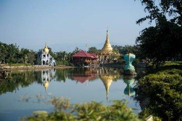 """云南瑞丽建设""""一带一路""""中缅贸易最大陆路口岸城市"""
