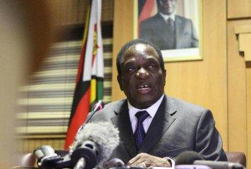 """辛巴威總統說將與中國共同加快""""一帶一路""""建設"""