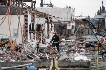 """""""3·21""""響水天嘉宜公司爆炸事故死亡人數上升至64人"""