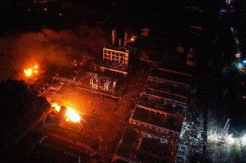 生態環境部:江蘇響水爆炸事故污染水體處置方案初步確定