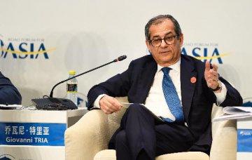 """参与""""一带一路""""建设将为意大利带来多重发展机遇--访意经济与财政部长特里亚"""