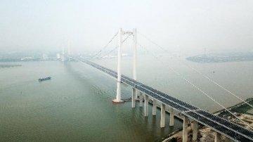 虎门二桥正式更名南沙大桥 粤港澳大湾区正加快形成快速交通网络