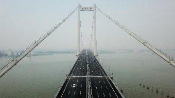 【专题】南沙大桥开通 粤港澳大湾区再添一座大桥