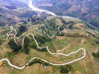 """贵州习水:农村公路建设开启村民""""幸福前程"""""""