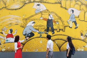 """大山里的""""爱和小镇"""":当乡村遇上艺术"""
