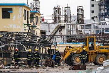 """江蘇響水""""3·21""""爆炸事故又有17人被採取刑事強制措施"""
