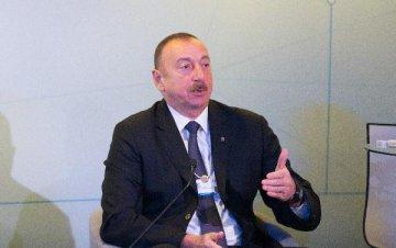 """访谈:""""一带一路""""倡议有助于促进各国经济发展和繁荣--访阿塞拜疆总统阿利耶夫"""