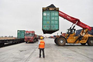 国际陆海贸易新通道首开印度方向海铁联运班列