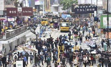 """香港法院对非法""""占中""""策划组织者判刑"""