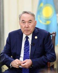 """高端访谈:""""一带一路""""是前景广阔的伟大倡议--访哈萨克斯坦首任总统纳扎尔巴耶夫"""