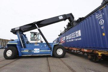 中歐班列(成都)累計進出港貨值超1500億元