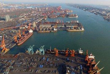 天津港加快建设绿色智慧枢纽港口