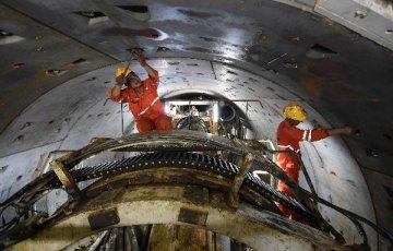 中國高端隧道掘進裝備出口歐盟國家