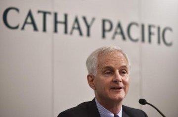 香港国泰航空宣布两名高管辞职