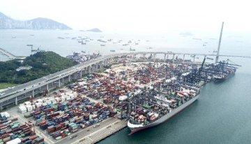 香港2019年上半年港口货物吞吐量同比下跌2.6%