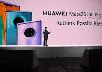 華為發佈全球首款第二代5G手機Mate 30