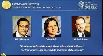 三名經濟學家因減貧研究成果獲2019年諾貝爾經濟學獎