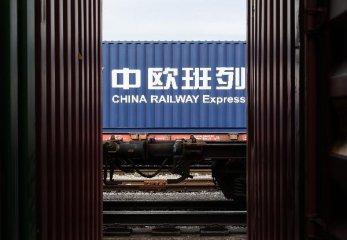 """湖南:中歐班列""""逆勢增長""""成為產業生命線"""