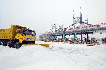 黑龍江省綏芬河市加緊建設方艙醫院 預計11日啟用