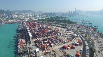 香港今年首季度出口額同比跌9.7%
