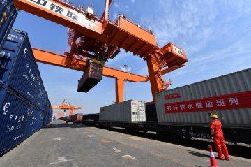 中国前5个月货物贸易进出口同比下降4.9%