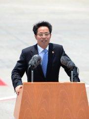 """張曉明解釋香港國安法規定的""""勾結外國或者境外勢力""""的兩類方式"""