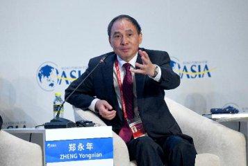 粤港澳大湾区建设利于促进中国经济内外双循环良性互动--郑永年