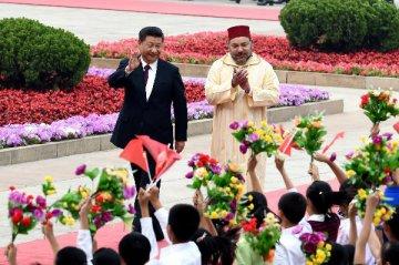 习近平同摩洛哥国王穆罕默德六世通电话,加强疫苗研发、采购和生产工作