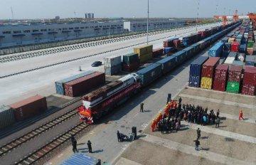 """济南:力拓""""一带一路""""沿线国家市场 外贸进出口逆势大幅增长"""